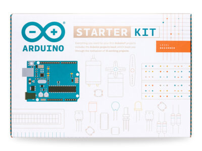 Voorkant Arduino starter kit