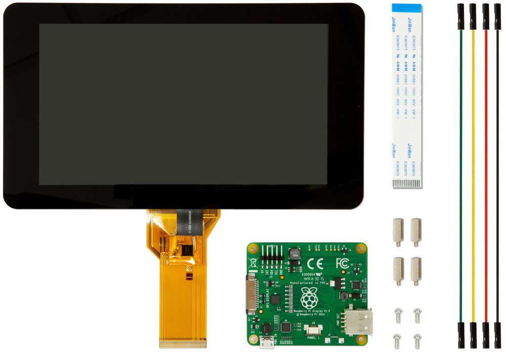 Officiële 7 inch display Raspberry pi
