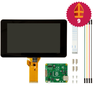 Raspberry Pi 7 inch touchscreen display sinterklaas top 10