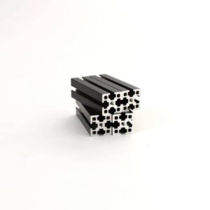 MakerBeamXL Black 50mm 4 stuks