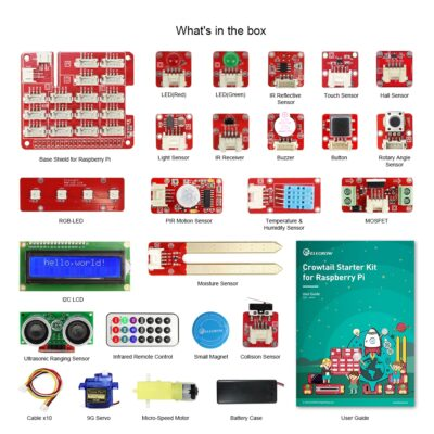 Contents Crowtail RPI kit