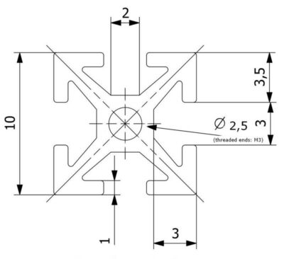 Dimensions MakerBeam