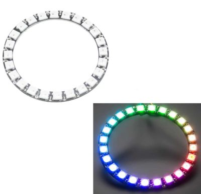 RGB LED Ring 24 LEDs - wie Neopixel