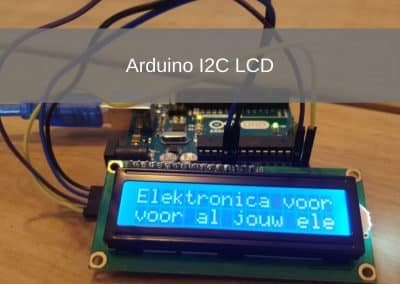 Arduino I2C LCD Project