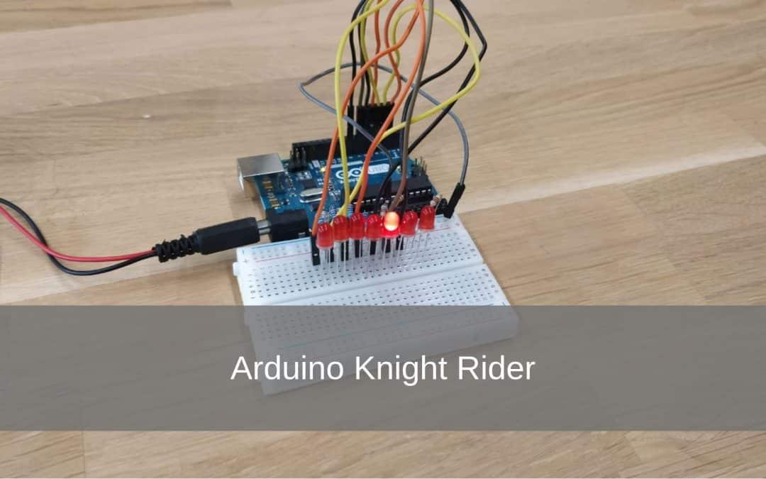 Arduino Knight Rider Project