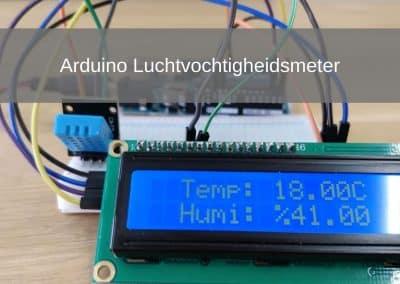 Arduino DHT11 Luchtvochtigheidsproject