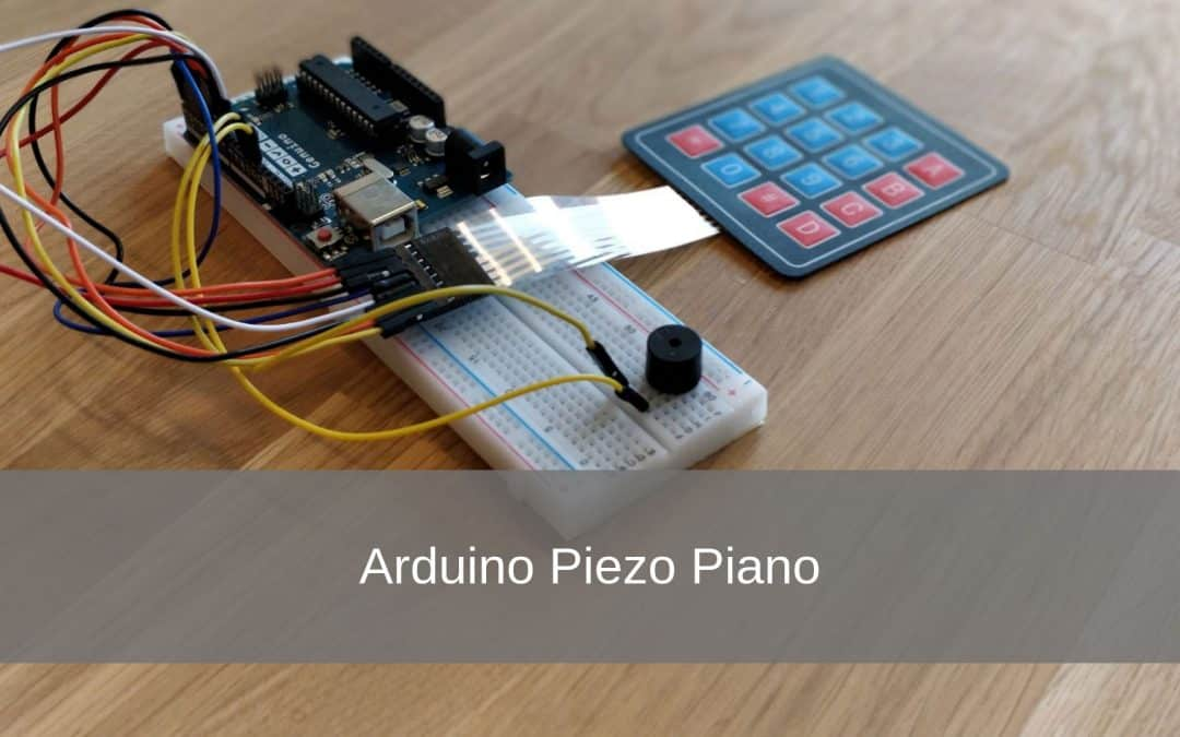 Arduino Piezo Piano Project