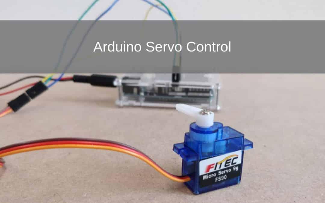Arduino Servo Control project