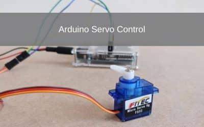 Arduino Introductie: Servo Control