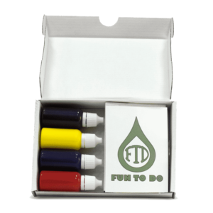 Pigment set RYBZ FTD Resin