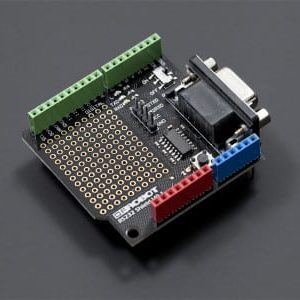 RS232 Arduino shield By DFRobot