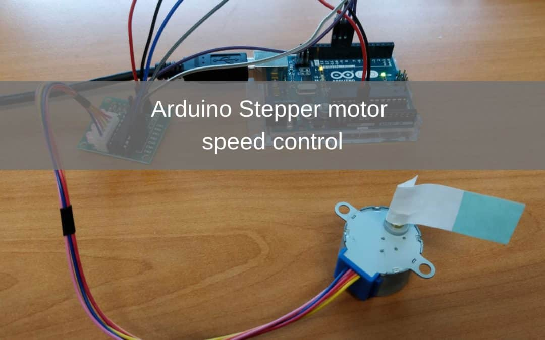 Arduino stepper motor speed control project