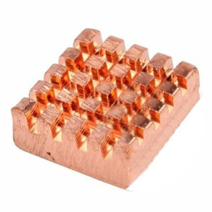 Koperen heatsink voor Raspberry Pi