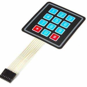 3X4 Keypad