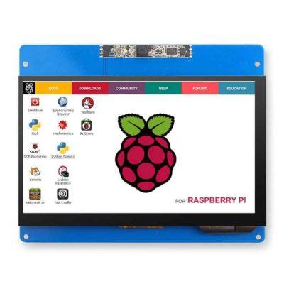 Écran LCD 7 pouces avec écran tactile et appareil photo