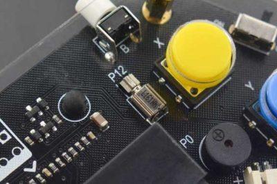 Manette de jeu Microbit se bouchent