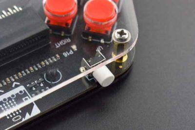 Bouton de la manette de jeu Microbit