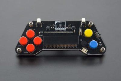 Face avant de la manette de jeu Microbit