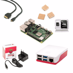 Raspberry Pi 4 starter kit