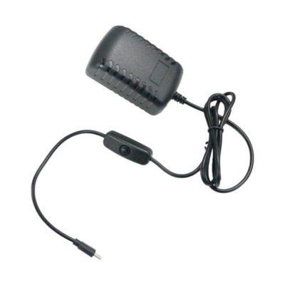 Raspberry Pi 4B power supply with switch