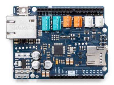 Bouclier Ethernet Arduino avant