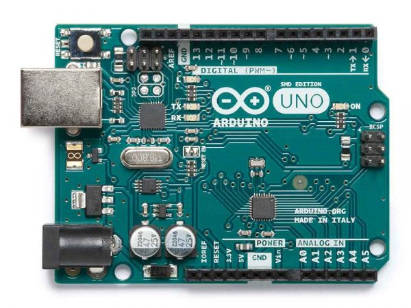 Arduino Uno SMD Voorkant