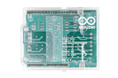 Blindage de relais Arduino arrière