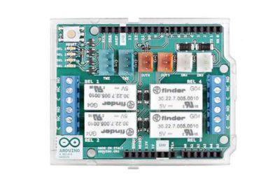 Blindage de relais Arduino avant
