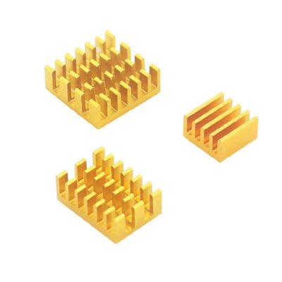 Heatsink set gold