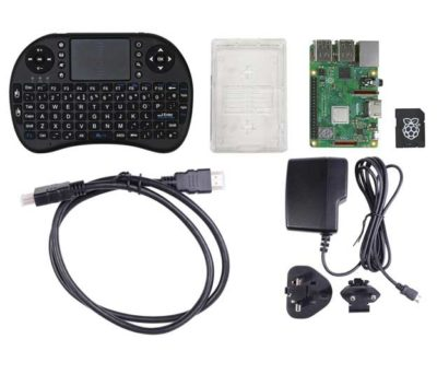 Raspberry Pi Media centre kit parts