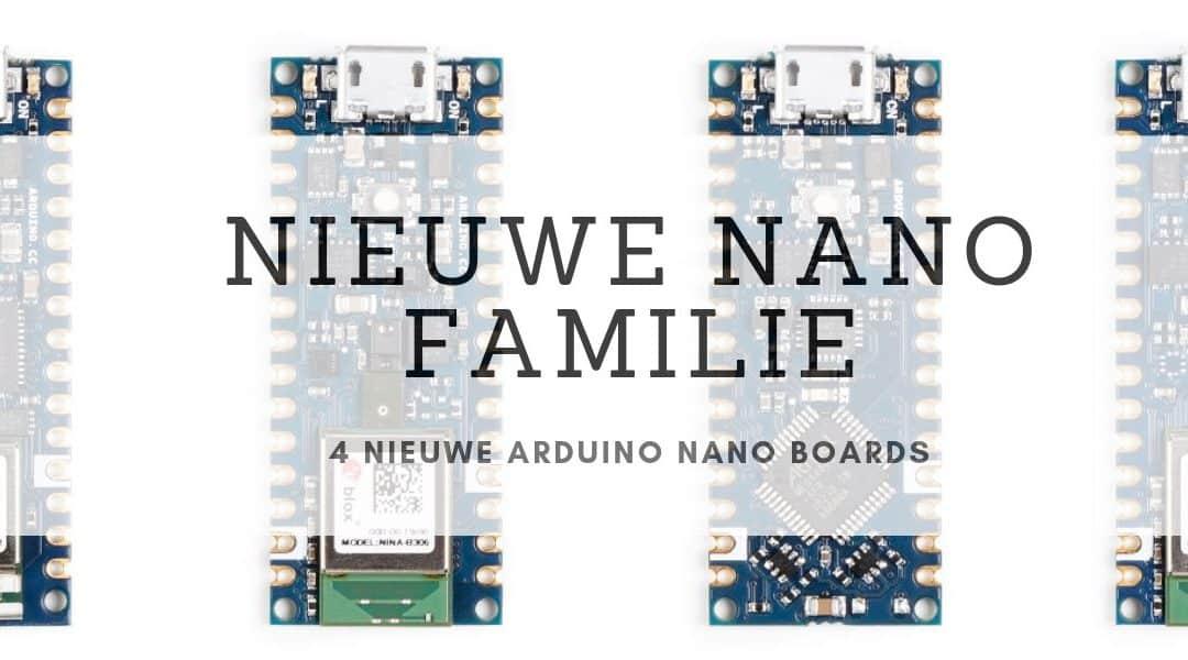 Nieuwe Arduino Nano boards