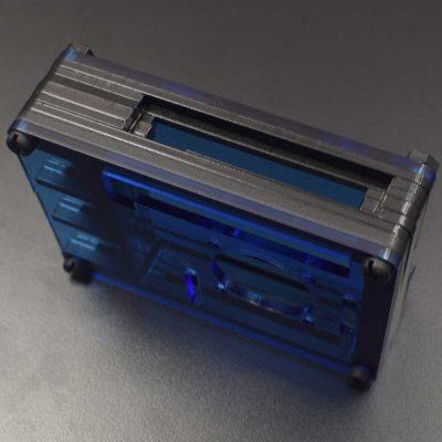 Boîtier acrylique RPI 4 bleu