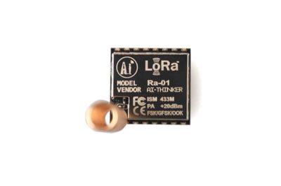 Dessus du module LoRa SX1278