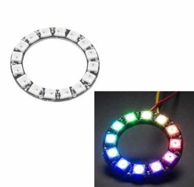 Anneau LED 16 LED RVB 5050