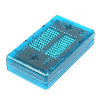 ABS Behuizing Arduino Mega Blauw onderkant