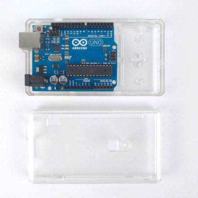 ABS-Gehäuse Arduino Mega Transparent