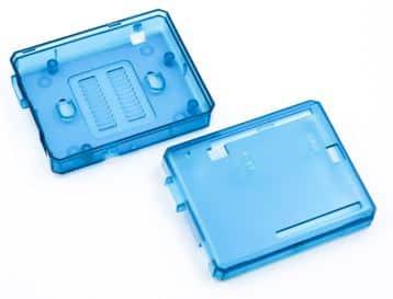 ABS-Gehäuse Arduino Uno Blue Teile