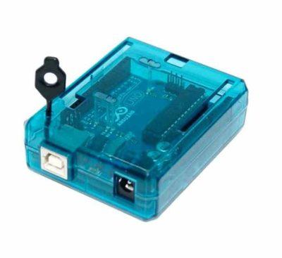 ABS-Gehäuse Arduino Uno Blue Reset-Pin