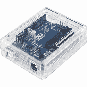 ABS Behuizing Arduino Uno Transparant