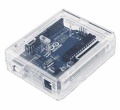ABS Enclosure Arduino Uno Transparent