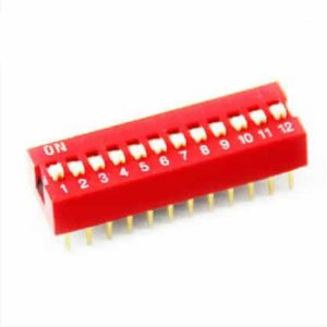 DIP Switch 12 schakelaars