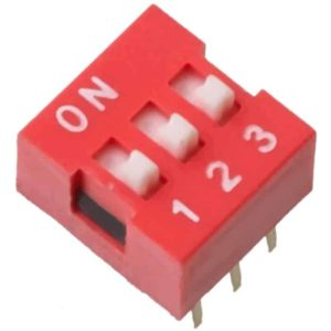 DIP Switch 3 schakelaars