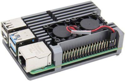 Heatsink Case fan gray