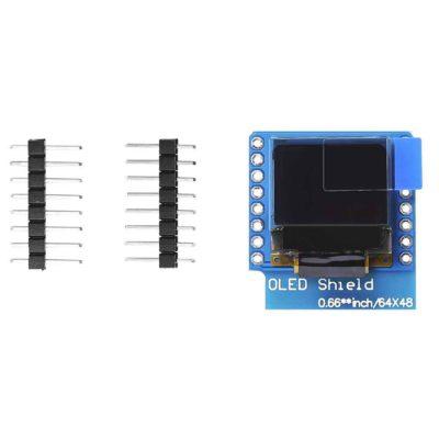 0.66 inch OLED Display onderdelen