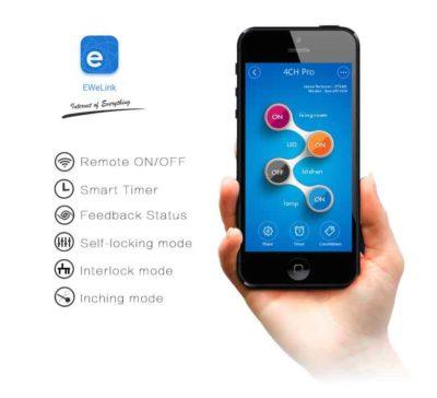 Sonoff 4CH Pro R2 app