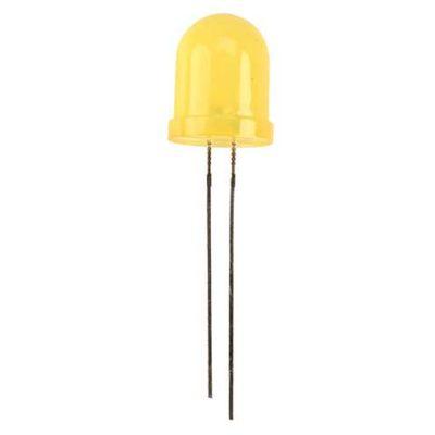 10mm LED Geel