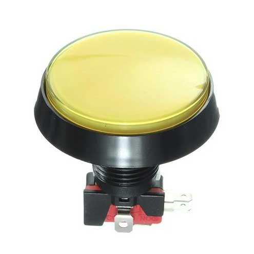 arcade knop 60mm geel