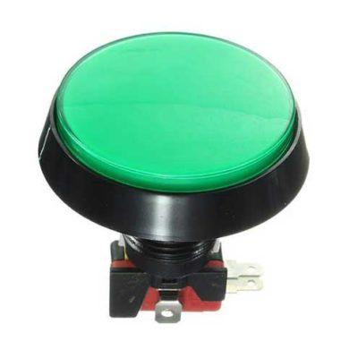 bouton arcade 60mm vert