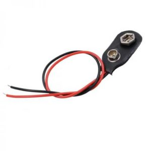 9V batterij clip