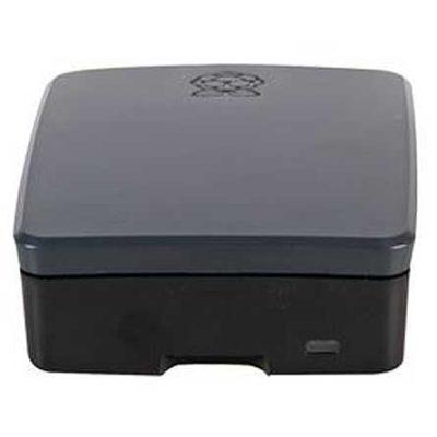 Official Raspberry Pi 4 Model B housing black gray